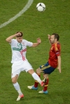 اسبانيا تفقد انيستا امام فرنسا و مقدونيا