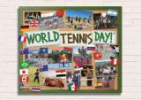 Celebrate World Tennis Day on Monday