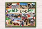Celebrate World Tennis Day on Monday